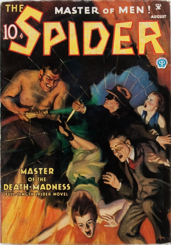 The Spider - August 1935