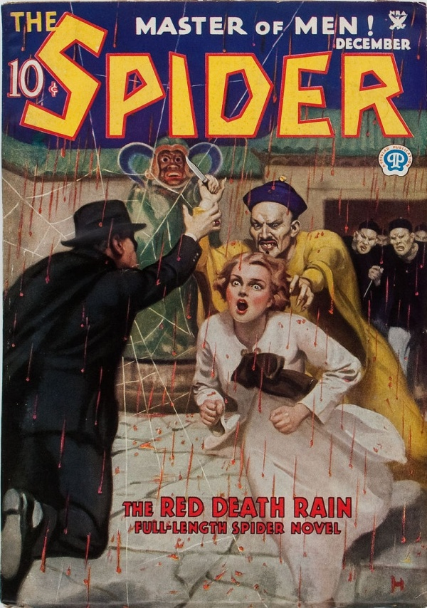 The Spider - December 1934