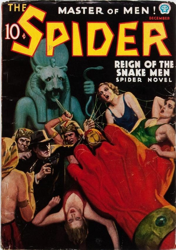 The Spider - December 1936