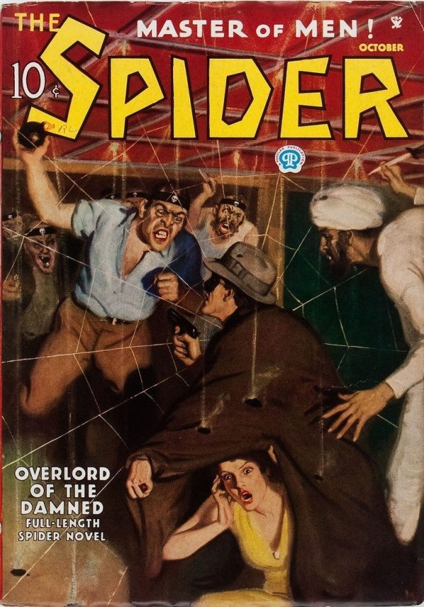The Spider - October 1935