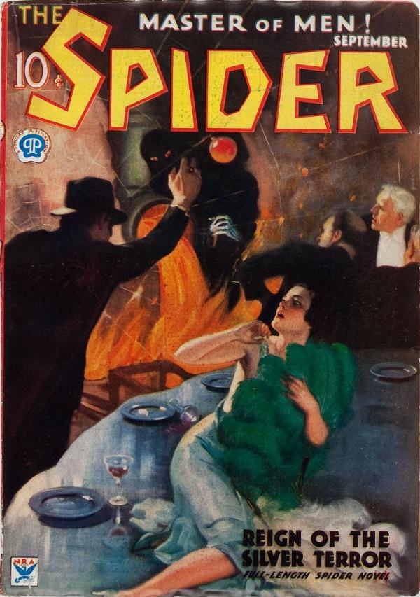 The Spider - September 1934