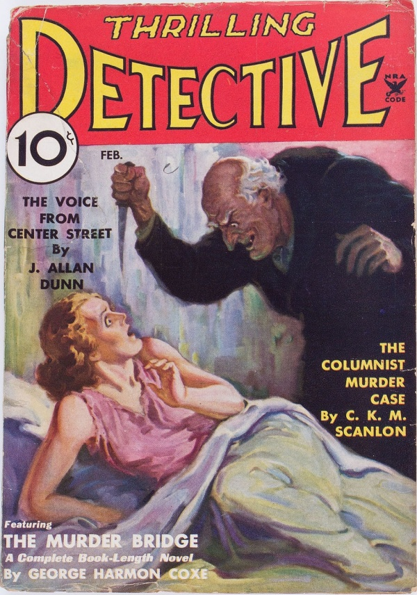 Thrilling Detective - February 1935