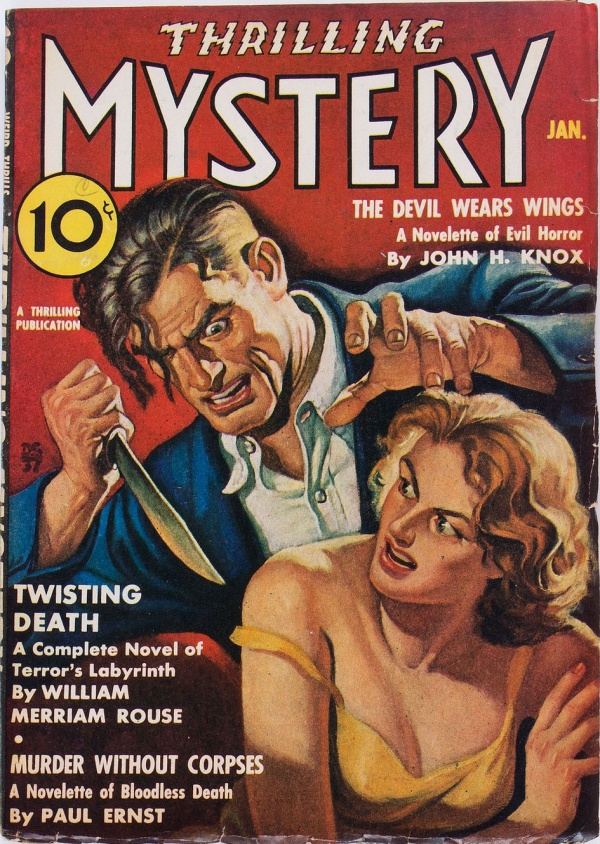 Thrilling Mystery - January 1938
