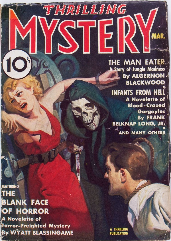 Thrilling Mystery - March 1937