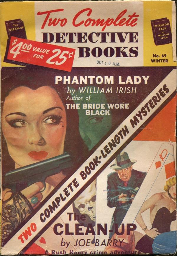 Two Complete Detective Books Winter 1951