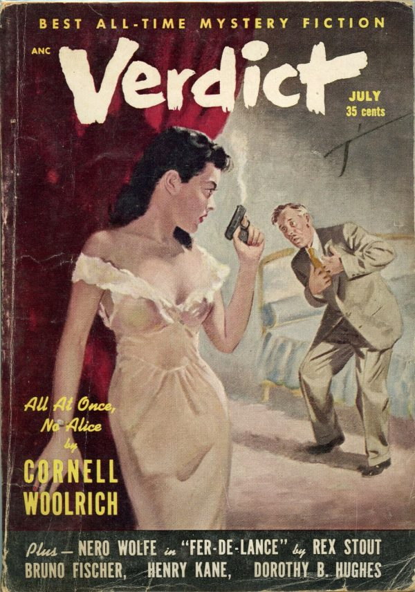 Verdict Mystery Magazine July 1953