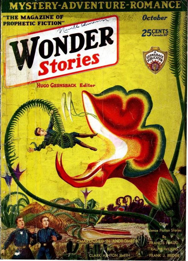 Wonder Stories October 1930