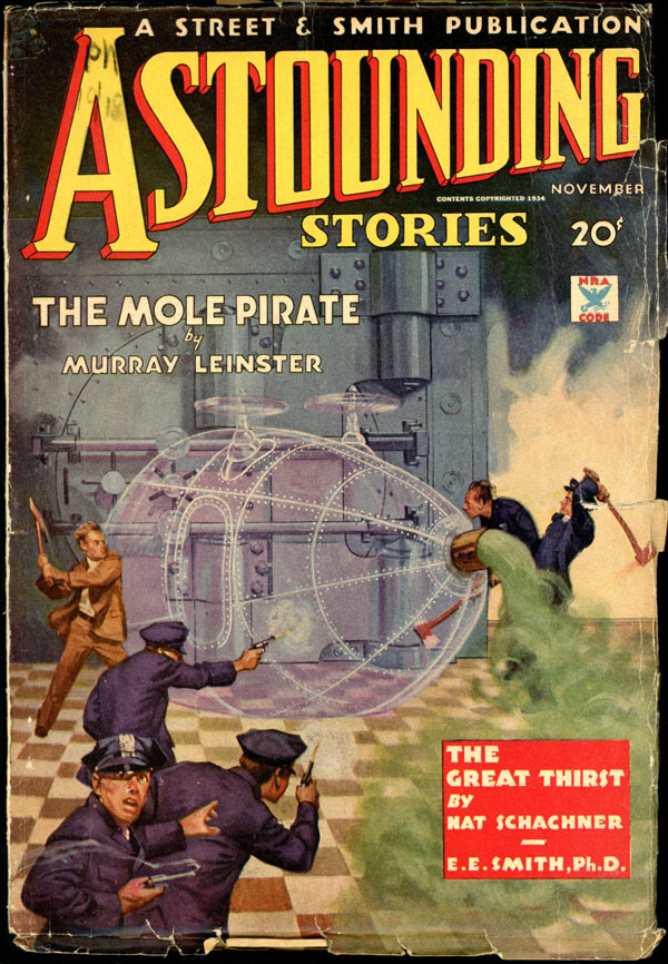 ASTOUNDING STORIES. November, 1934