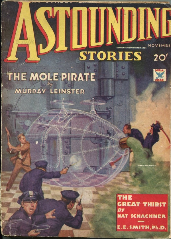 Astounding Stories November 1934