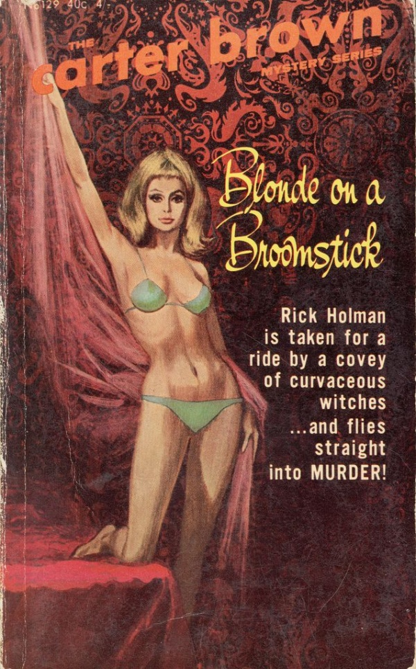 Blonde on a broomstick Horwitz 1966