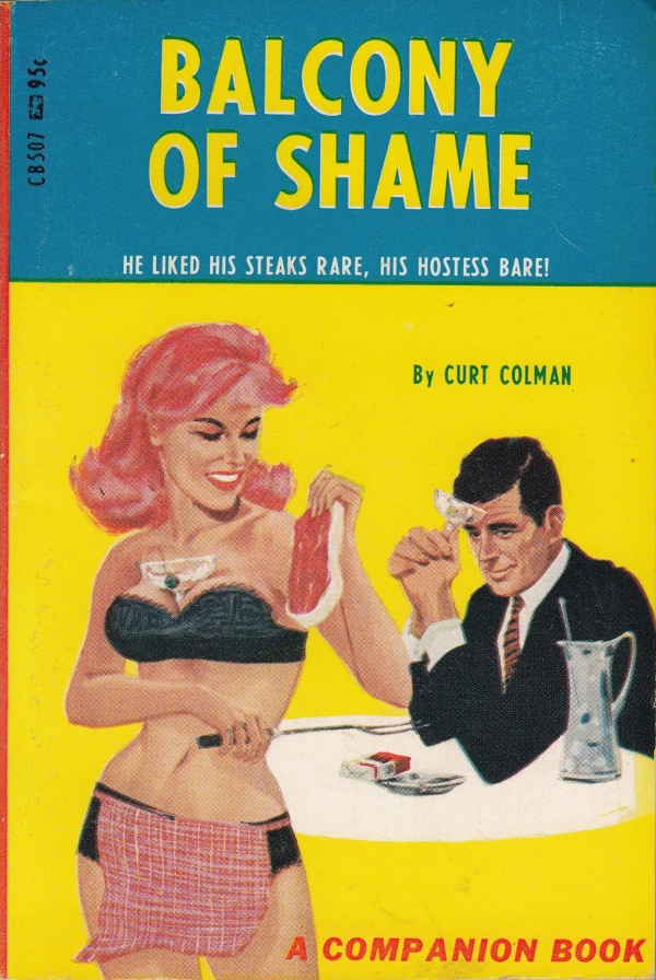 Companion Books CB507 - Balcony Of Shame (1967)