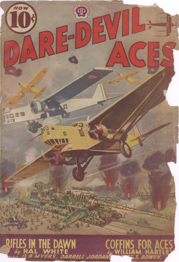 Daredevil Aces February 1939