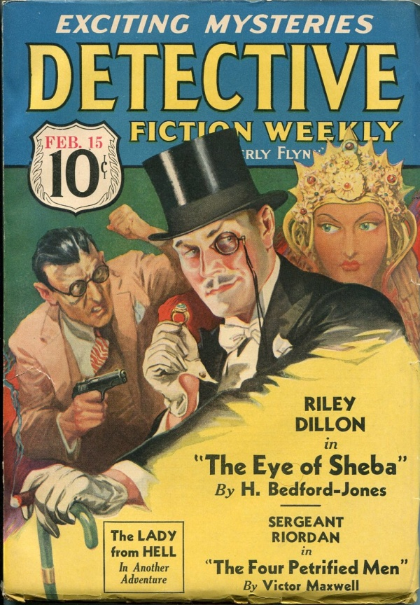 Detective Fiction Weekly February 15 1936