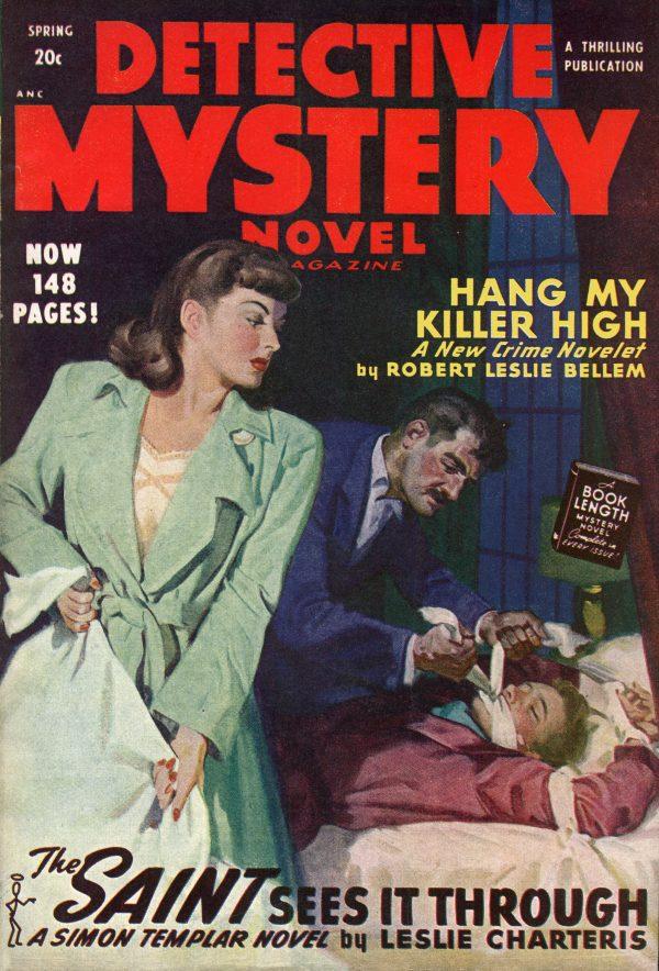 Detective Mystery Novel Spring 1948