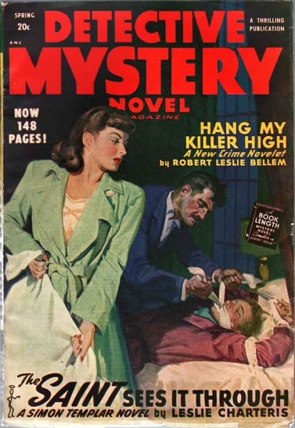 Detective Mystery Novel Year 1948