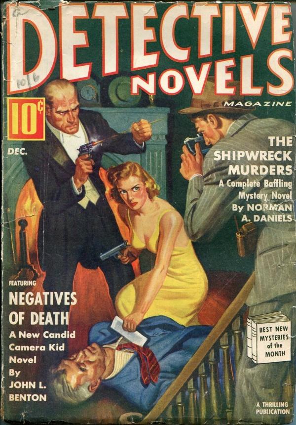 Detective Novels December 1939