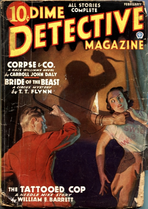 Dime Detective February 1936