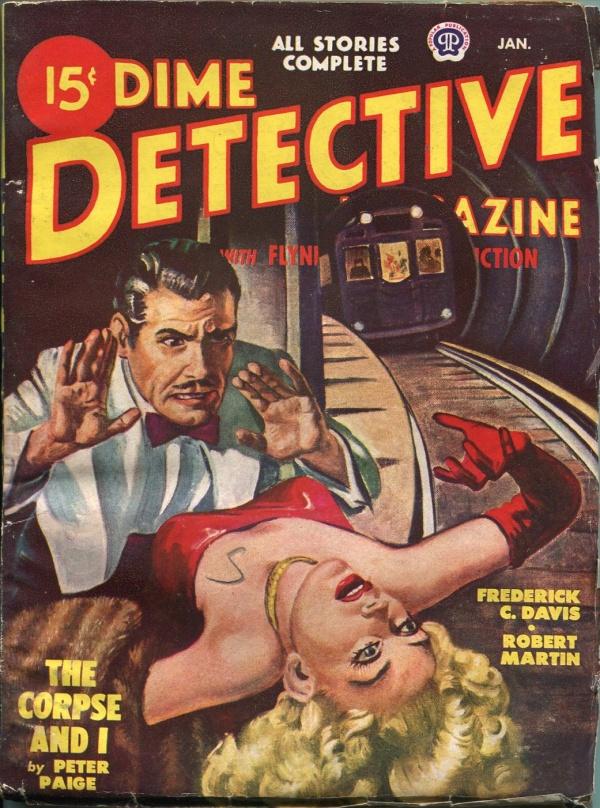 Dime Detective January 1949