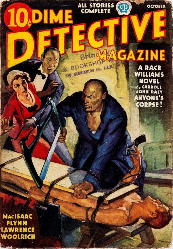 Dime Detective Magazine - October 1937