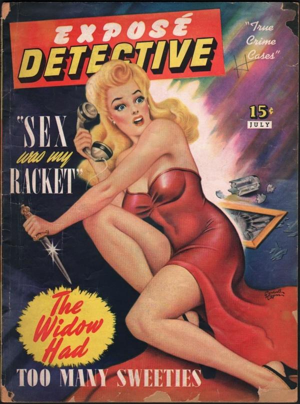 Exposé Detective July 1942