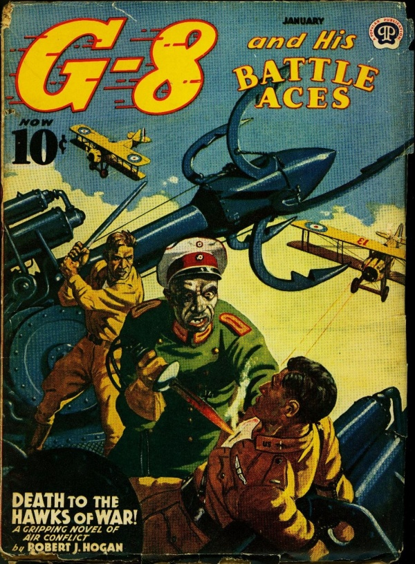 G-8 And His Battle Aces January 1941