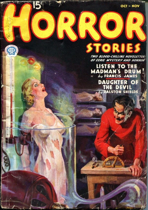 Horror Stories October 1937
