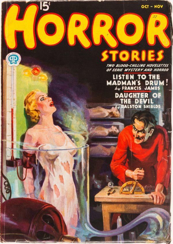 Horror Stories - October November 1937