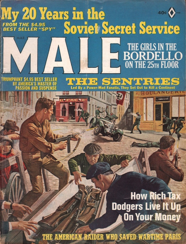 Male Magazine March 1966