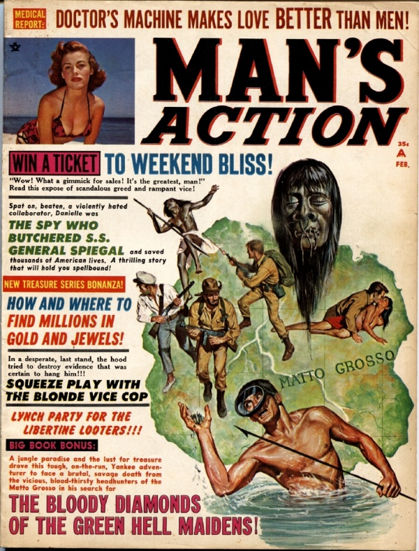 Man's Action February 1967
