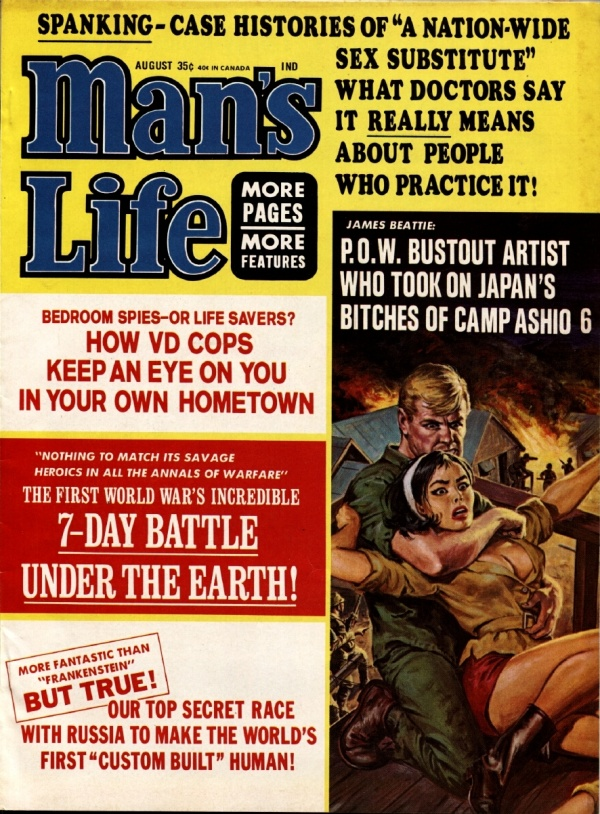 Man's Life August 1965