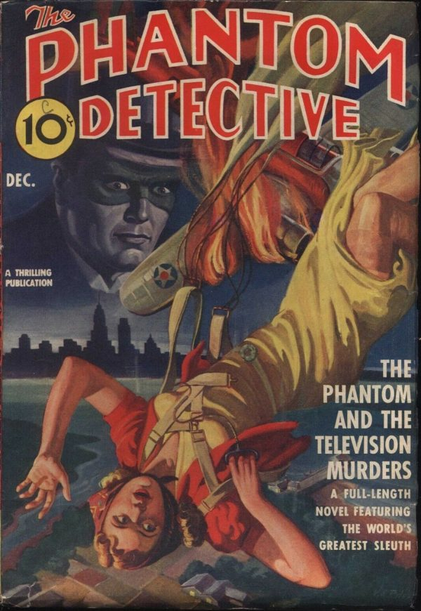 Phantom Detective Magazine December, 1940