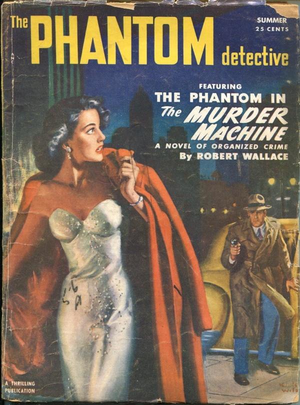 Phantom Detective Summer 1952