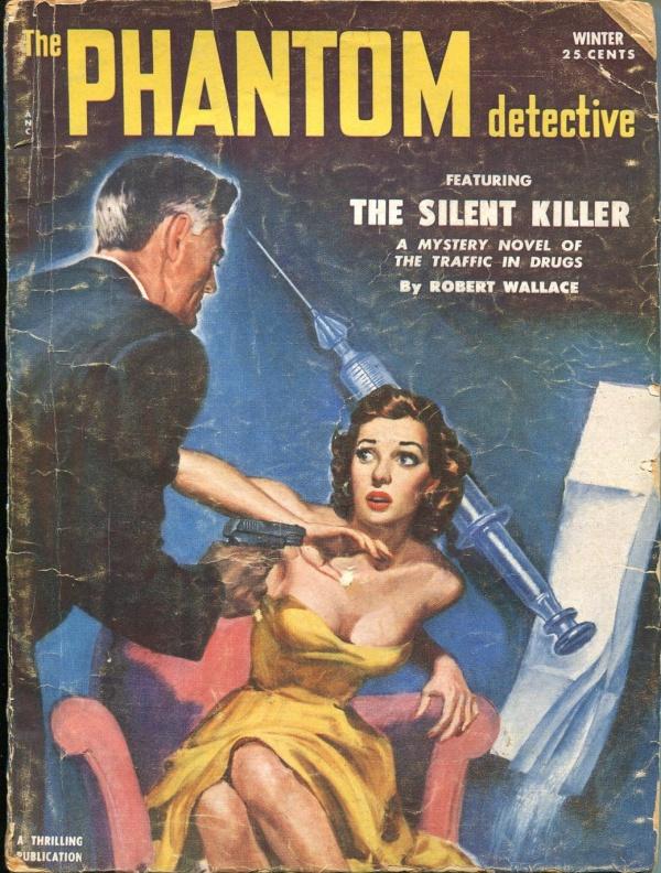 Phantom Detective Winter 1952