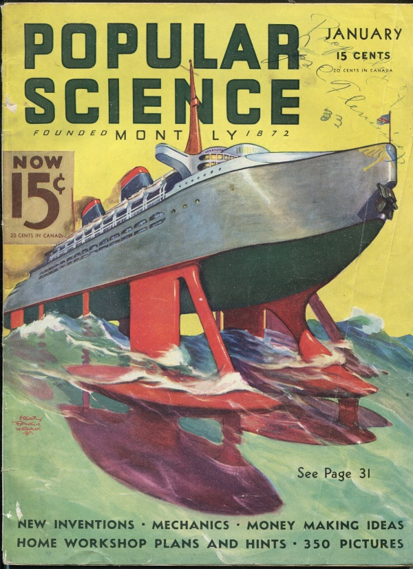 Popular Science January 1936