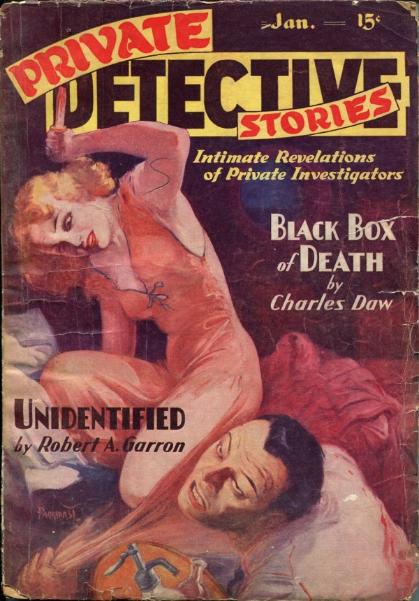 Private Detective Stories January 1938
