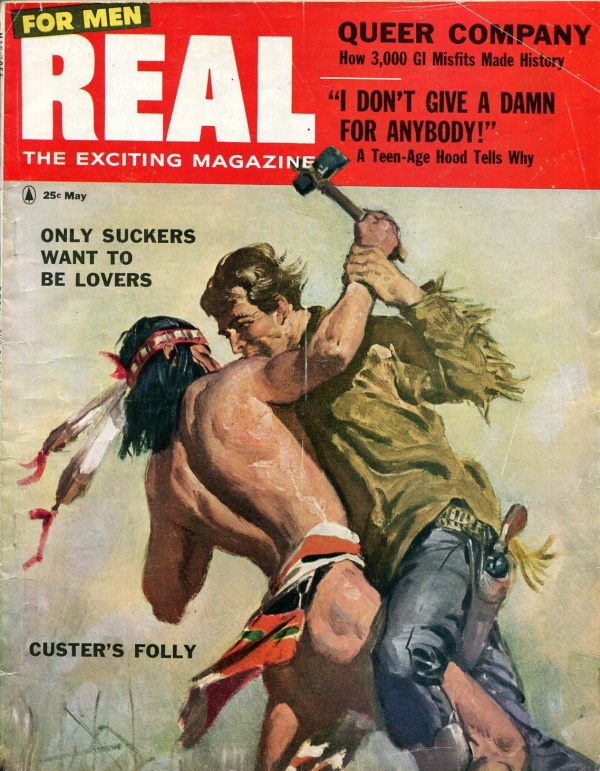 Real For Men May 1956