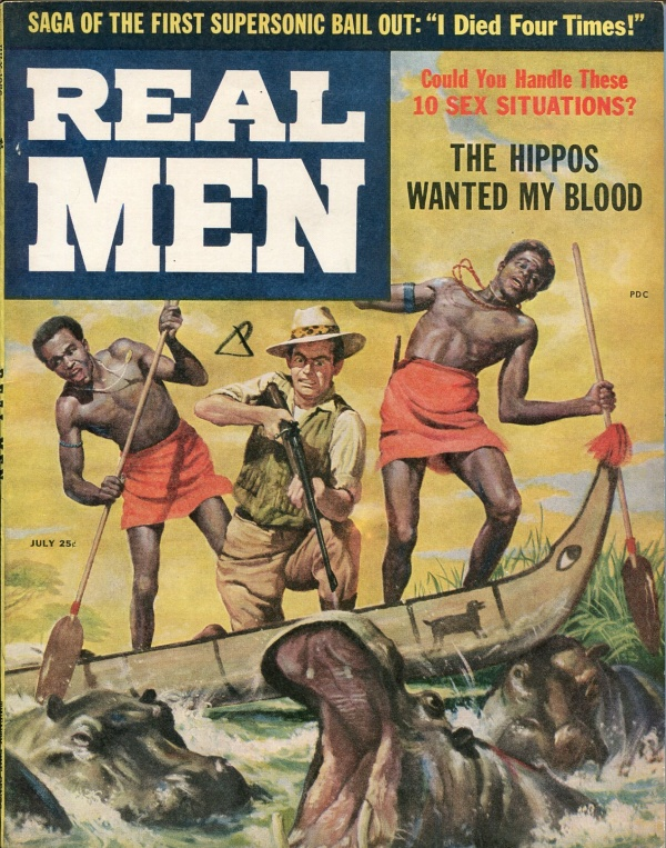Real Men July 1956