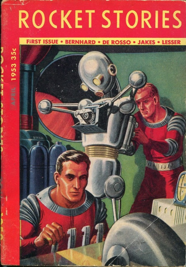 Rocket Stories April 1953