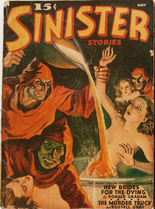 Sinister Stories May 1940