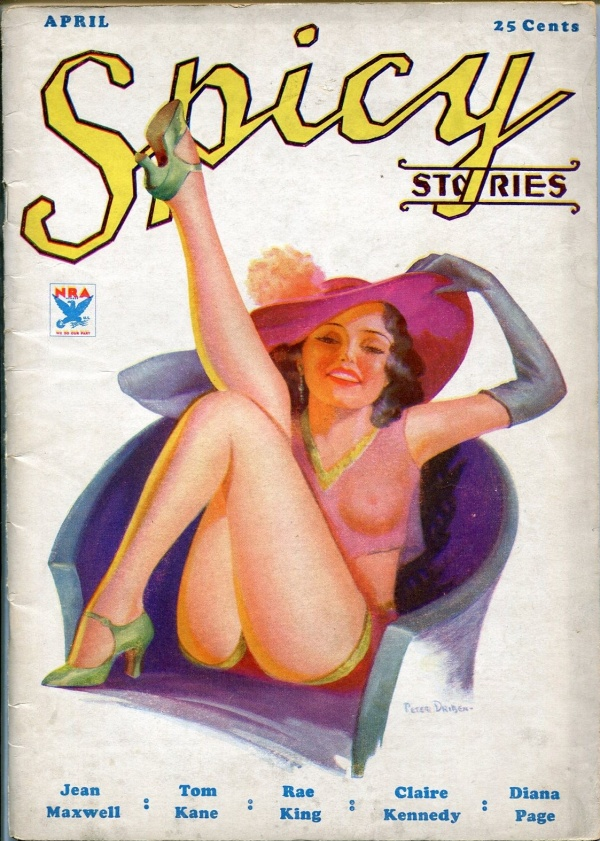 Spicy Stories November 1934