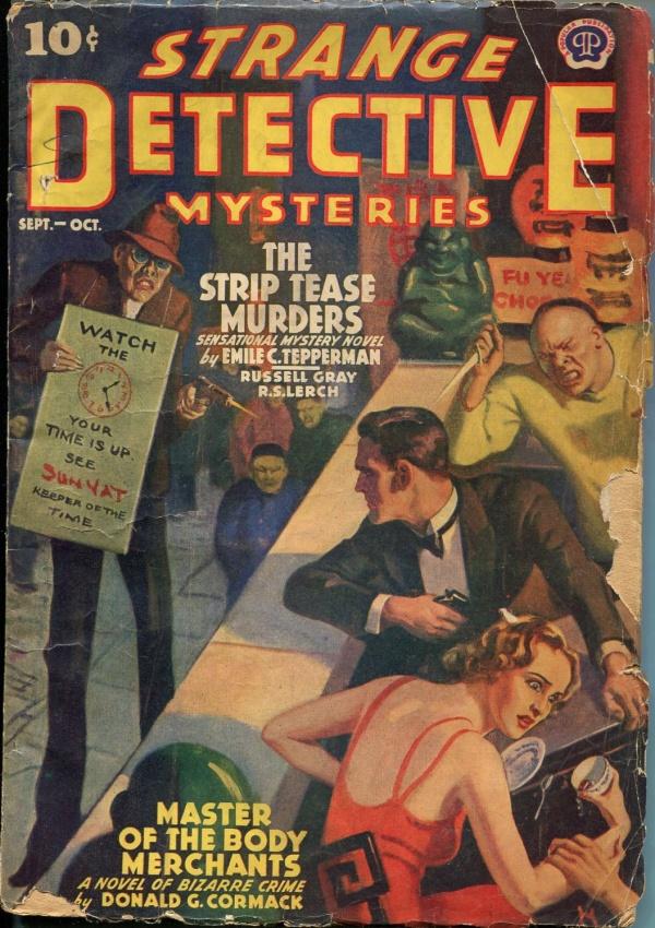 Strange Detective Mysteries September 1939
