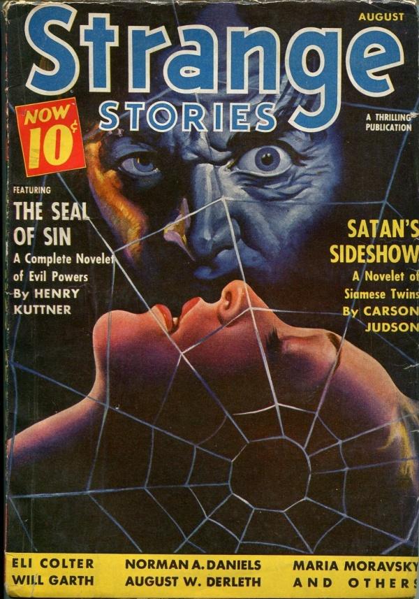 Strange Stories August 1940