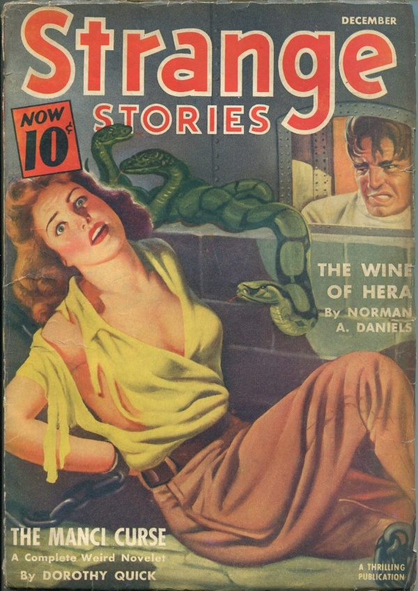 Strange Stories December 1940