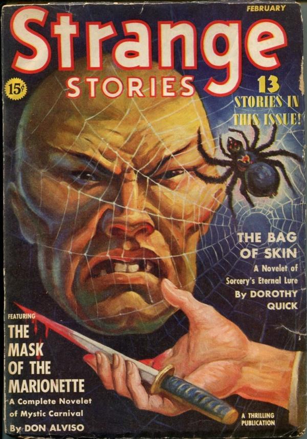 Strange Stories February 1940