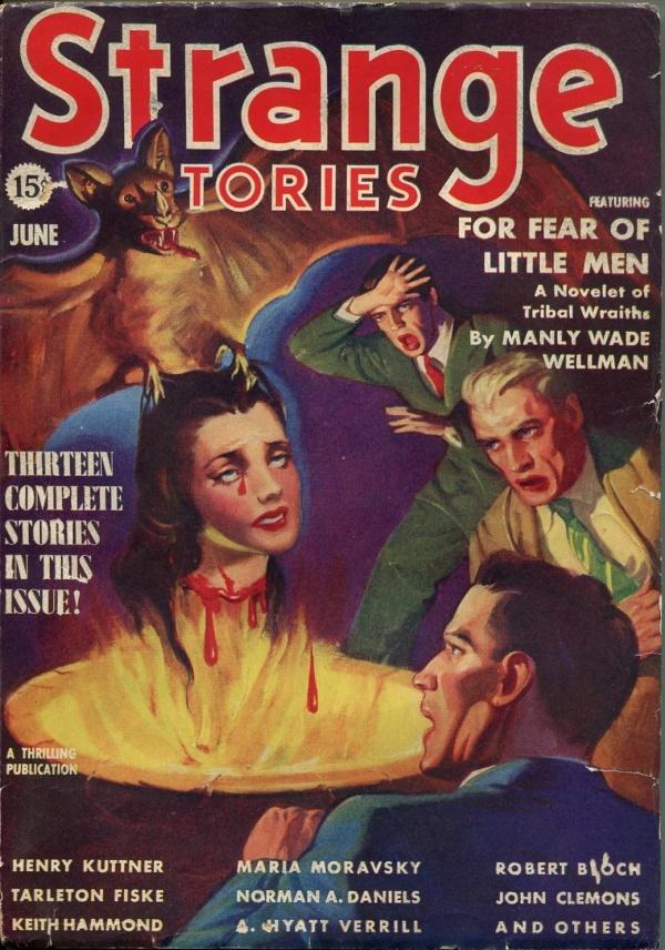 Strange Stories June 1939