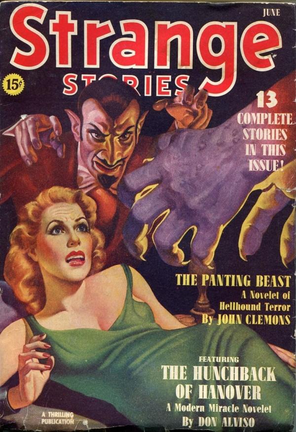 Strange Stories June 1940