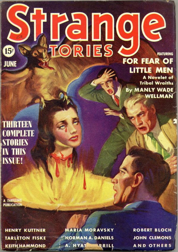 Strange Stories Magazine June 1939