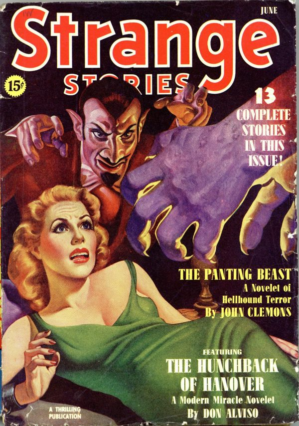 Strange Stories Magazine June 1940