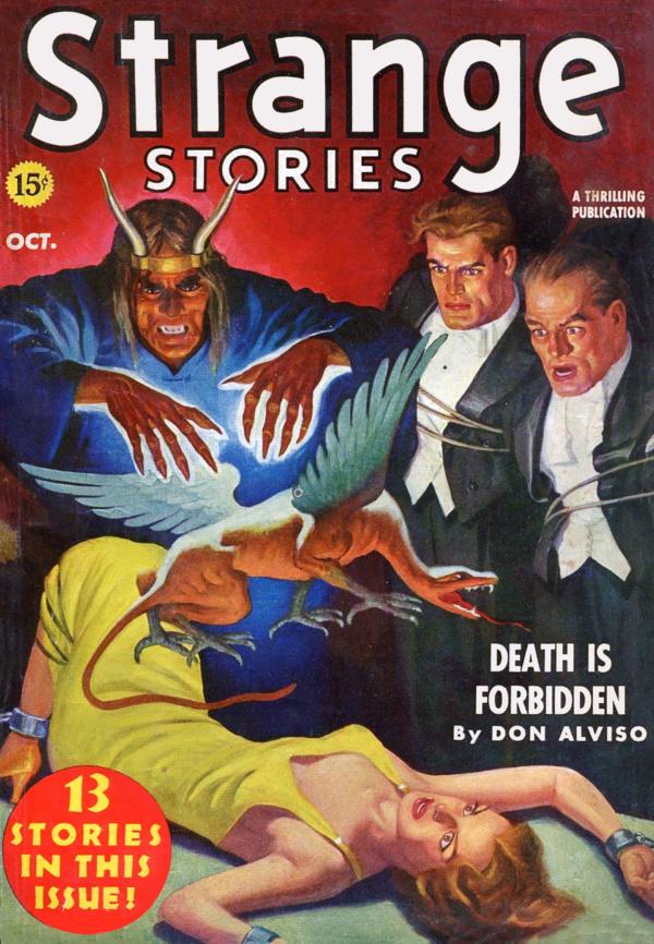 Strange Stories Oct 1939