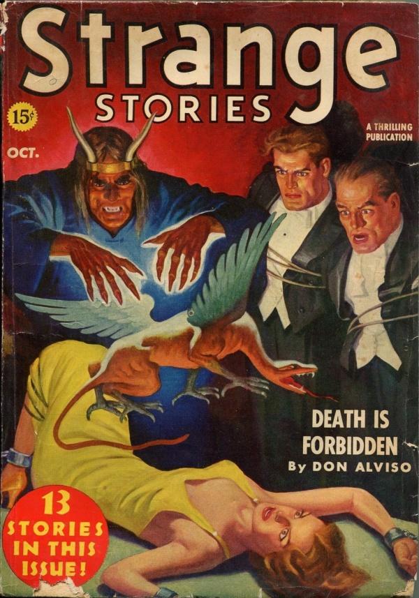 Strange Stories October 1939